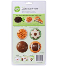 Wilton Cookie & Candy Mold-Sports at Joann.com