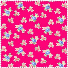 You will love Pam Kittys new line, Pam Kitty Picnic. This listing is for Cherry Favorite Mini Floral 1/2 yard    18x44 inches    100% cotton