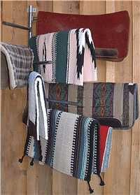 Saddle pad rack - need one of these in the new tack room. We have soooooo many pads!