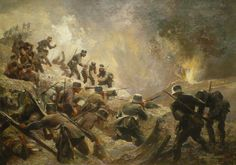 """""""The wrong people are fighting"""" sense of helplessness, idea that ordinary soldiers just do the bidding of higher officers from the novel All Quiet On The Western Front by Erich Maria Remarque"""