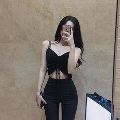 Fashion and Beauty skinny thin flat stomach thinspo Building a Gazebo Are you handy? Grunge Outfits, Mode Outfits, Girl Outfits, Fashion Outfits, Ulzzang Fashion, Asian Fashion, Girl Fashion, Womens Fashion, Skinny Girl Body