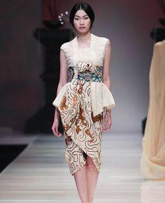 Inspirasi #Model #Kebaya #Modern Ala #Kimono Jepang. #fashion