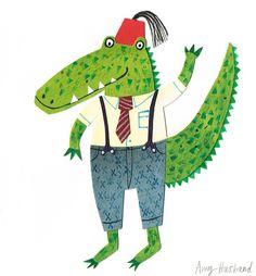 Children's Illustrator :: Amy Husband << Illustration Friday