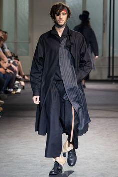 Yohji Yamamoto Spring/Summer 2017 Menswear Collection   British Vogue
