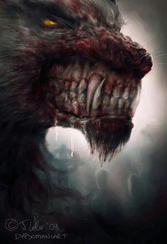 Loup-garou # werewolf # monster # creature # Beast