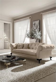 GEORGE Collection sofa by Cantori