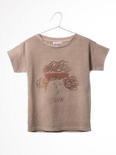 T-shirt John available at Half Pint Shop - Free US Shipping!