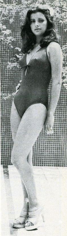 Miss Falcon - Vilma Goliz Romero, en el Certamen del Miss Venezuela 1977..