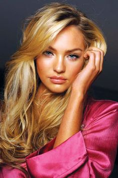 Get the look: Candice Swanepoel #hair #makeup #howto