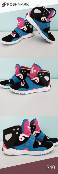 42c850fc76b8a1 Adidas Roundhouse High Top Athletic Sneakers UEC! Adidas ART G47247 Women s  Shoes Roundhouse Size 8