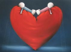 Doug Hyde » Collections » High On Love - Edition No. 95 of 495 - Unmounted Edition on Paper