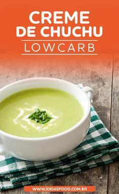 Caldos Low Carb, Sopas Low Carb, Chayote Recipes, Portuguese Recipes, How To Eat Paleo, No Carb Diets, Light Recipes, Low Carb Keto, Food And Drink