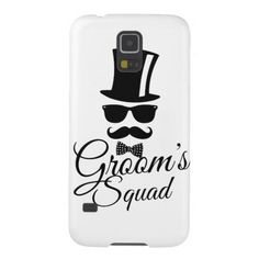 #bachelorparty #wedding #groom #groomssquad #teamgroom #bachelor #weddinggift #weddingcase Groom's squad case for galaxy s5