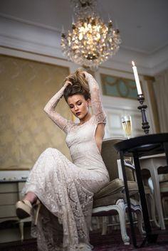 Molly Rustas - in the Salong at Hotel Kungsträdgården