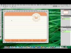 Digital Project Life: How to add text to a Journaling Card