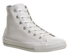 Buy White Mono Exclusive Converse Ctas Gemma Hi from OFFICE.co.uk.
