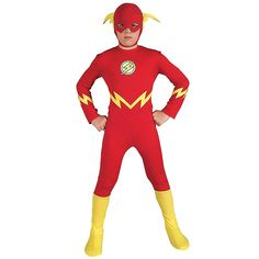 The Flash Costume Kids Superhero Halloween Fancy Dress Flash Halloween Costume, Superhero Halloween, Halloween Fancy Dress, Halloween Costumes For Kids, Halloween Party, Superhero Party, Superhero Costumes Kids, Avengers Costumes, Female Superhero