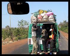 On the road - Missira, Tambacounda - Senegal