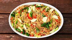 Taste this asian noodle salad from Aviva Goldfarb of The Six O'Clock Scramble and Kitchen Explorers. Find more noodle recipes at PBS Food