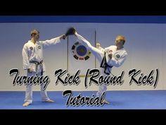 How to Full Turning Kick/Roundhouse Kick An in depth breakdown of the Taekwondo/Kickboxing Turning Kick/Roundhouse Kick. The tutorial also covers how to make. Korean Martial Arts, Mixed Martial Arts, Sesame Street Invitations, Roundhouse Kick, Martial Arts Training, Personal Defense, Mind Body Spirit, Aikido, Taekwondo