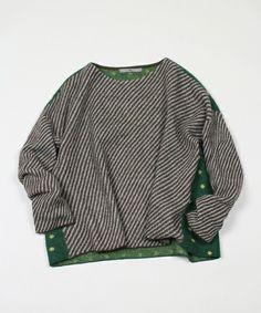 45R Lady's(レディース)のフロートWジャガードセーター(ニット/セーター) ブラウン