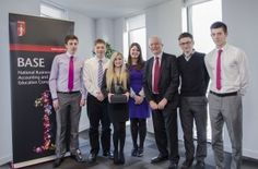 6 March 2014: Aspiring accountants from King Edward VI School, Morpeth win the first Newcastle #BASE2014 heat  www.norsca.co.uk/news  @ICAEW_NorSCA