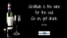 Productivity Quotes, Gratitude, Wine, Bottle, Drinks, Drinking, Beverages, Grateful Heart, Drink