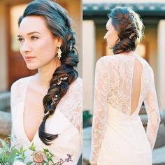 Wedding Hairstyle | fabmood.com #weddinghair #bridalhair #hairstyle #updo #upstyle #braidupdo #hairstyleideas #hairstyles #bridalhairstyle #weddinghairstyles