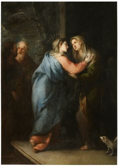 Jose Moreno - The Visitation, 1662