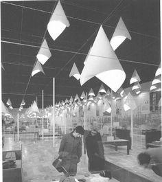 Padiglione Montecatini 1962 - Fiera Milano - Achille e Piergiacomo Castiglioni