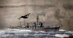 IJN Yukikaze by Rainer Michalek