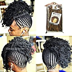 Pretty braided style - http://www.blackhairinformation.com/community/hairstyle-gallery/braids-twists/pretty-braided-style/ #braidsandtwists