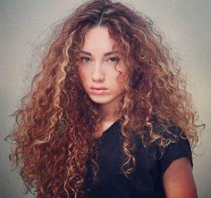 That wild curly hair attitude.