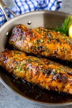 Pork Tenderloin Marinade - Dinner at the Zoo Marinated Pork Tenderloin Recipe Marinade Porc, Pork Loin Marinade, Grilled Pork Loin, Balsamic Pork Tenderloins, Baked Pork, Best Pork Tenderloin Marinade, Pork Chops, Filet Mignon Recipes Grilled, Mets