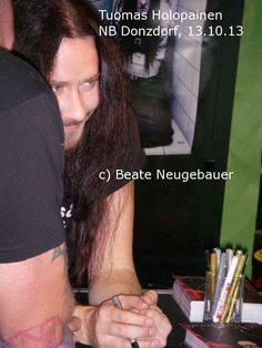 Tuomas Holopainen, pic taken by my sister