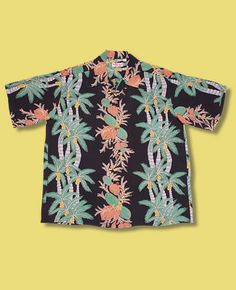 Vintage Hawaiian Shirts 1930's - 1950's by Sun Surf