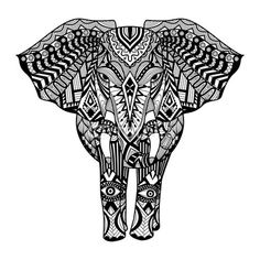 Free coloring page coloring adult oriental elephants Oriental