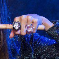 AR Essencial Joias Eco - Friendly - Anel Coração Quartzo Fumê