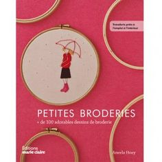 Livre Petites broderies - Editions Marie Claire