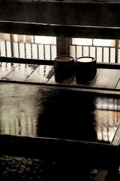 Houshi hot spring in Gunma, Japan