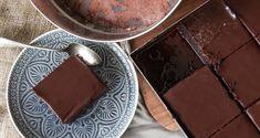 Glazed Chocolate Cake with Chocolate Syrup (aka Chocolate Halvah?)