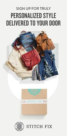 Unwrap the latest arrivals of the season, handpicked exclusively for your body, budget and busy schedule. Your personal stylist will help you build your dream wardrobe and give you pro tips on how to make the most out of every piece. Explore hot trends, new patterns and the latest combinations—and keep only what you love. Head to StitchFix.com and fill out your Style Profile to get started!