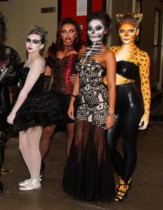 While we're seriously digging all of Little Mix's Halloween outfits, you've got to give it Perrie Edwards for NAILING that big cat costume.   - Cosmopolitan.co.uk