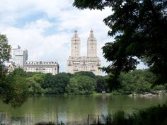 Central Park with New York City in the skyline.  July 2009.  Photo taken by Robert Kjolberg
