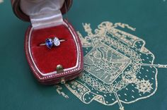Empress Josèphine's diamond and sapphire 'toi et moi' engagement ring, given by then-General Napolèon