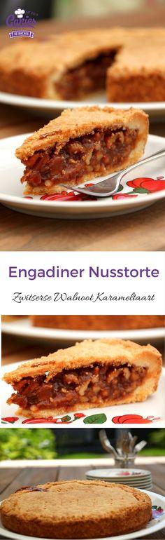 Engadiner Nusstorte Recept - Een heerlijke Zwitserse Walnoot Karameltaart