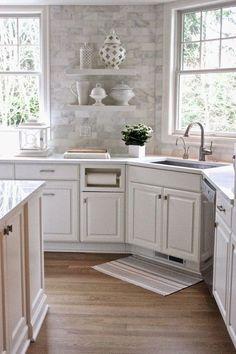 Cool 75 Gorgeous Kitchen Backsplash Tile Ideas https://crowdecor.com/75-gorgeous-kitchen-backsplash-tile-ideas/