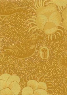 Vintage wall paper by Birger Kaipiainen Nordic Interior Design, Scandinavian Design, My Living Room, Wall Wallpaper, Designer Wallpaper, Beautiful Patterns, Framed Art, Design Art, Mandala