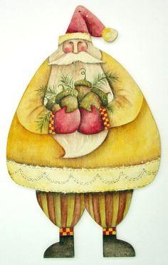 Lynn Andrews Decorative Painting | Lynne Andrews - Pattern Packets | santa | Pinterest