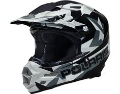 FLY F2 Helmet- Gray Fractal by Polaris 2866200 4Xl Atv, Fractals, Helmet, Gray, Ash, Atvs, Mtb Bike, Motorcycle Helmet, Grey